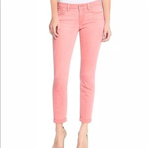 Jessica Simpson Rolled Crop Skinny Rosette Jeans